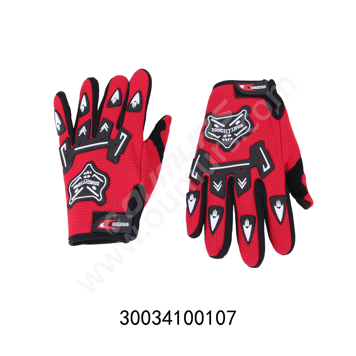 Gloves-Genaral Red